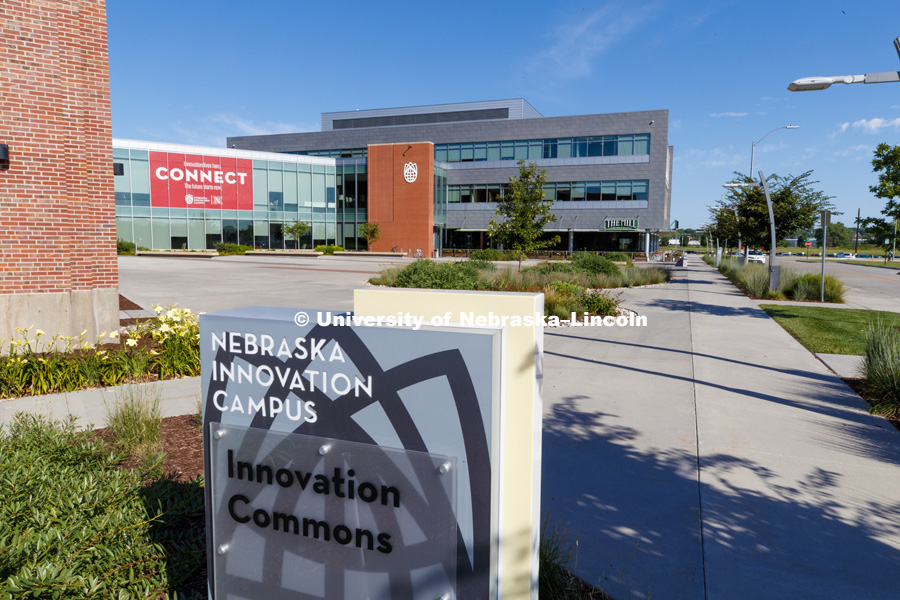 Nebraska Innovation Campus. July 24, 2018. Photo by Craig Chandler / University Communication.