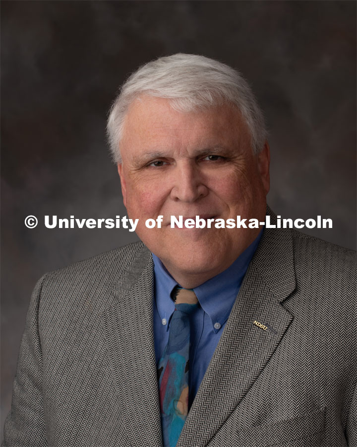 Studio portrait of David Buchanan, Associate Dean for Academic Programs, College of Agriculture, Food Systems and Natural Resources at North Dakota State University. David is receiving the Animal Science Graduate of Distinction Award. October 9, 2019. Photo by Gregory Nathan / University Communication.