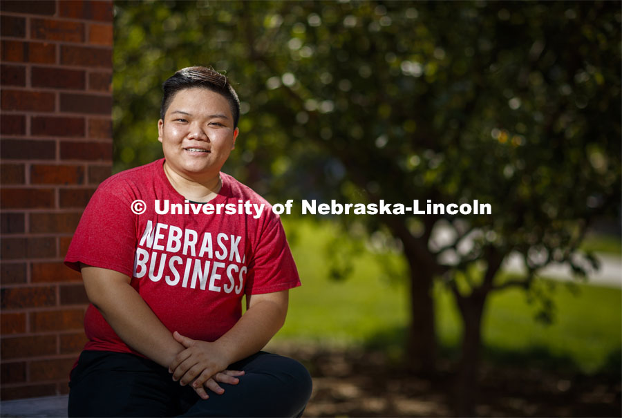 Kennedy Nguyen Husker Dialogues. Husker Dialogues is designed to introduce first-year students to tools they can use to engage in meaningful conversations to help create an inclusive Husker community. August 19, 2020. Photo by Craig Chandler / University Communication.