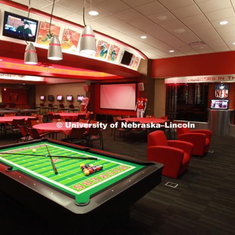 Hendricks Training Complex. University Of Nebraska Athletics Facilites.  Photo By Scott Bruhn / University