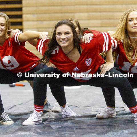 Alpha Xi Delta, Sigma Chi and Phi Mu perform at Huskers Have Talent competition at the Coliseum. September 18, 2017. Photo by Craig Chandler / University Communication.