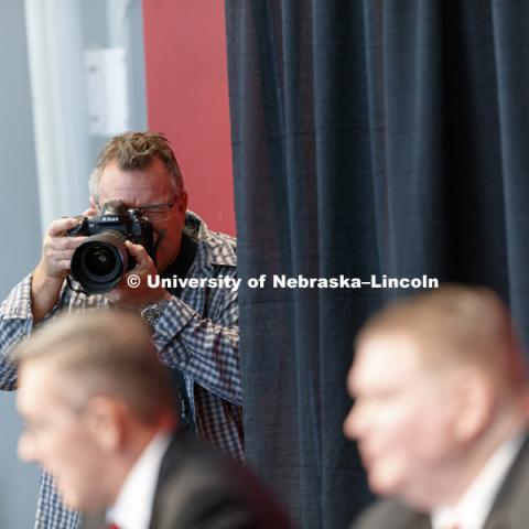 Dave Rimington, a native of Omaha and a two-time Husker All-American, will return to Lincoln as the University of Nebraska's interim director of athletics, Chancellor Ronnie Green announced September 26, 2017.  Photo by Craig Chandler / University