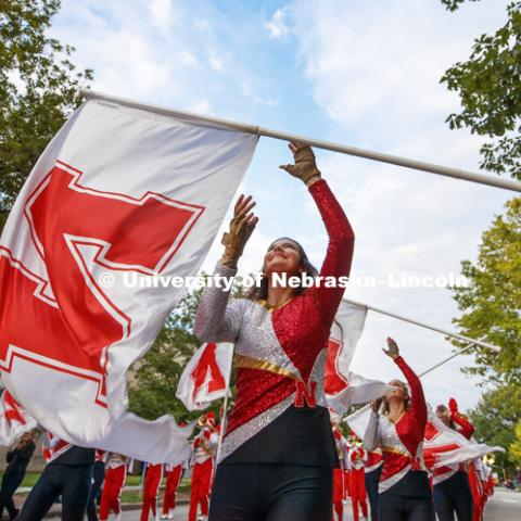 2018 Homecoming Parade. September 28, 2018. Photo by Craig Chandler / University Communication.
