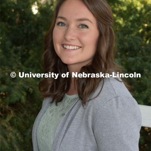 Bethany Karlberg is from Mullen, Nebraska and graduated from the University of Nebraska– Lincoln in May 2019 with an Agricultural and Environmental Sciences major and an aerospace studies minor. Strategic Discussions for Nebraska student writers. April 4, 2019. Photo by Greg Nathan / University Communication.