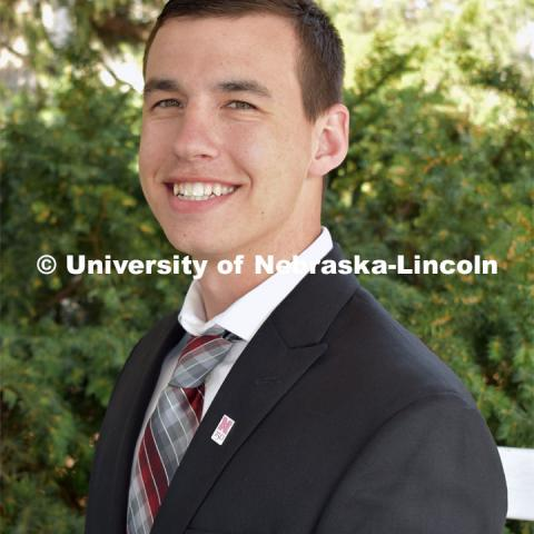 Michael Ferguson is from Kimball, Nebraska and graduated from the University of Nebraska–Lincoln in May 2019 with an Agricultural and Environmental Sciences major and a Leadership and Communication minor. Strategic Discussions for Nebraska student writers. April 4, 2019. Photo by Greg Nathan / University Communication.