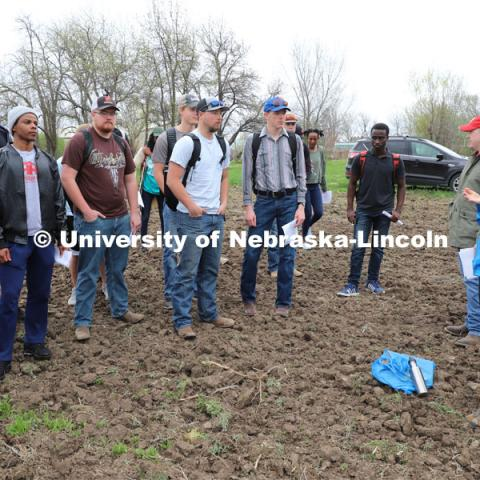 Various photos with Assistant Professor Andrea Basche, Agronomy and Horticulture. April 17, 2019. Photo by University of Nebraska.
