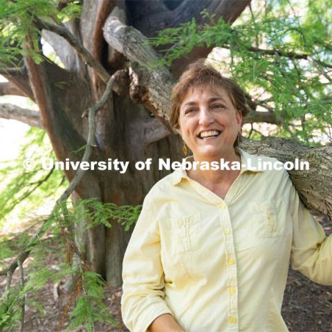 Lisa Pennisi, human dimensions specialist and associate professor of practice in the School of Natural Resources at the University of Nebraska–Lincoln. Photo for the 2019 publication of the Strategic Discussions for Nebraska magazine. July 19, 2019. Photo by Gregory Nathan / University Communication.