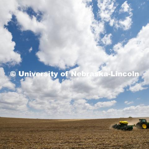 Spring Planting. April 29, 2020. Photo by Craig Chandler / University Communication.