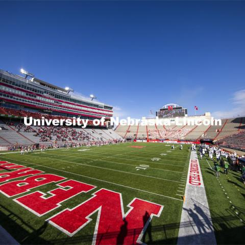 Nebraska v. Penn State football. November 14, 2020. Photo by Craig Chandler / University Communication.